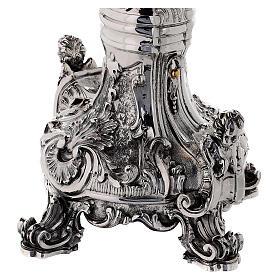 Custodia latón Swarovski estilo barroco con ángel s10