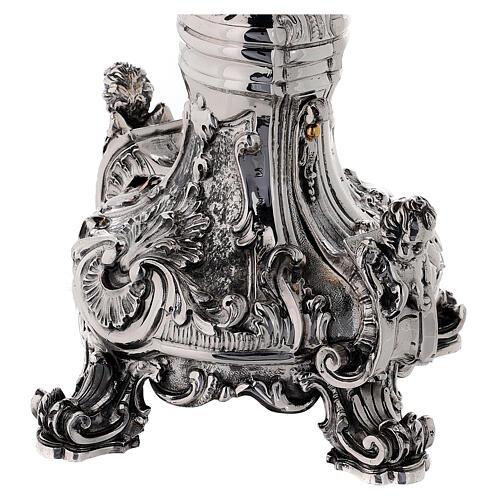 Custodia latón Swarovski estilo barroco con ángel 10