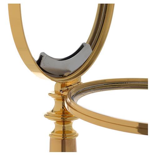 Teca Ostia Magna ottone dorato h28 cm 4
