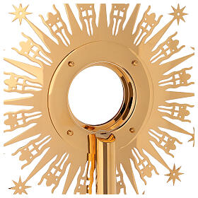 Monstrance Molina with stars, brass s11