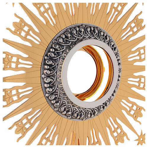 Monstrance Molina with stars, brass 3