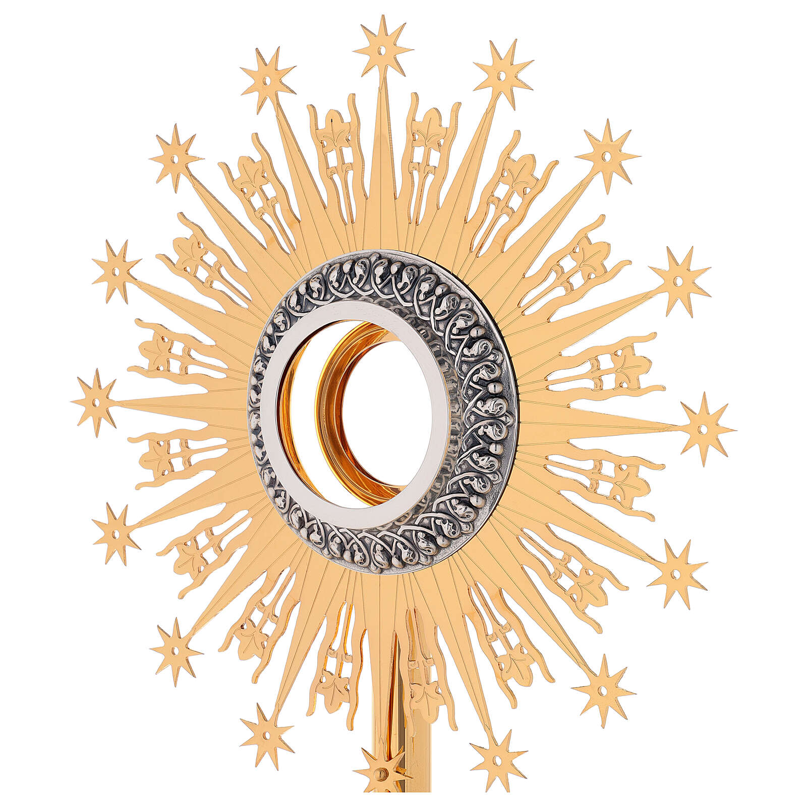 Monstrance Molina with stars, brass 4