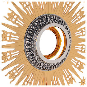Monstrance Molina with stars, brass s3