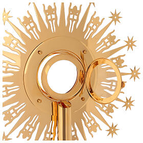 Monstrance Molina with stars, brass s10
