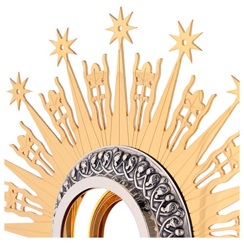 Monstrance Molina with stars, brass 6