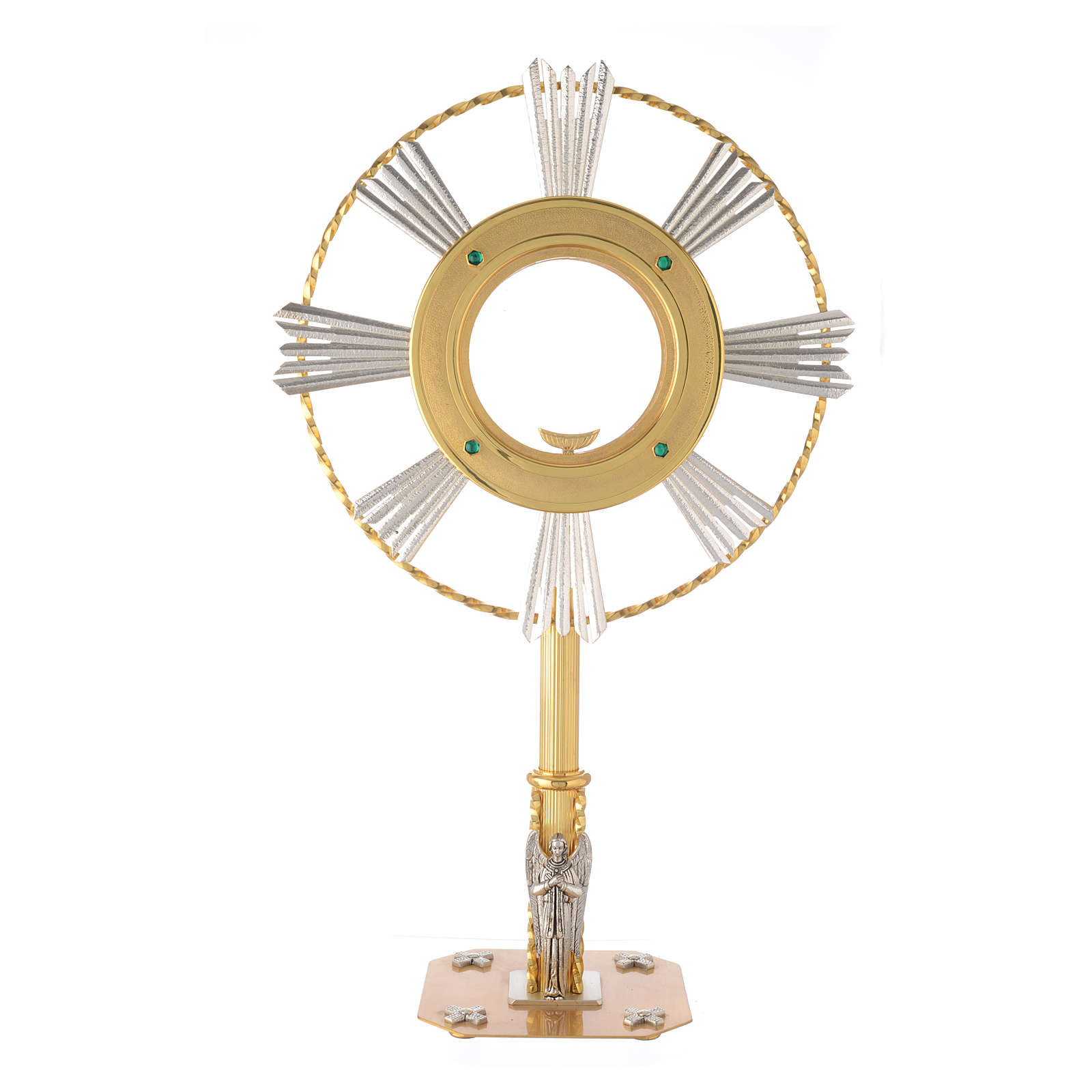 Monstrance Magna host with Angel 4