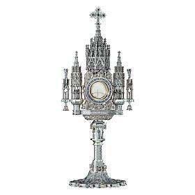 Ostensorio Molina stile Gotico argento massiccio 925 s1