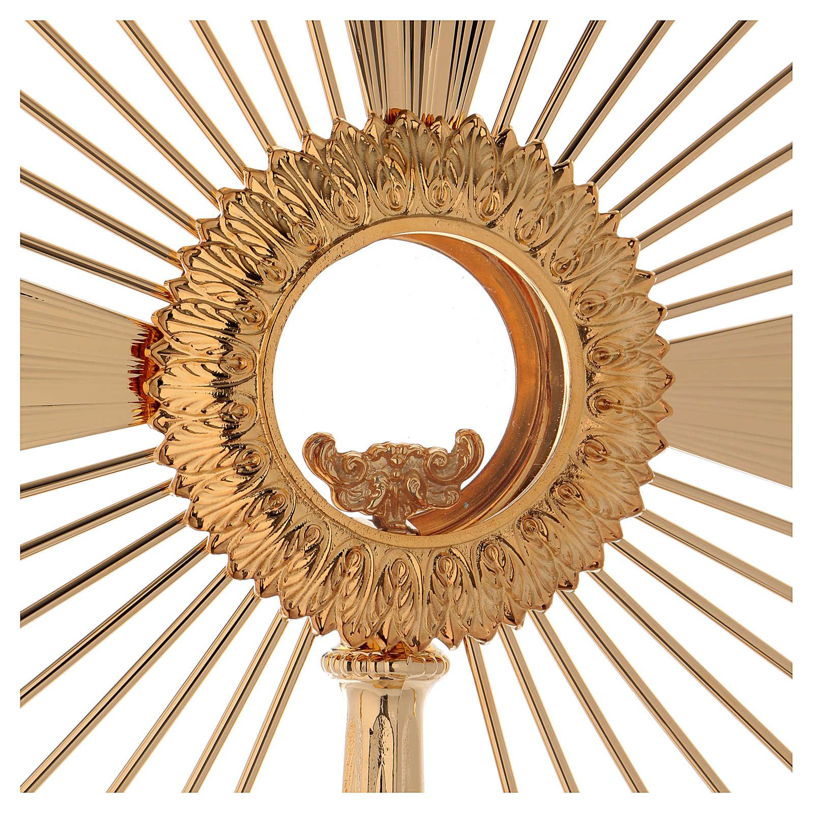 Ostensorio barocco Raggio di Sole 60 cm 4