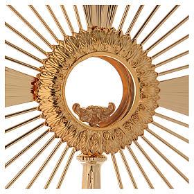 Ostensorio barocco Raggio di Sole 60 cm s2
