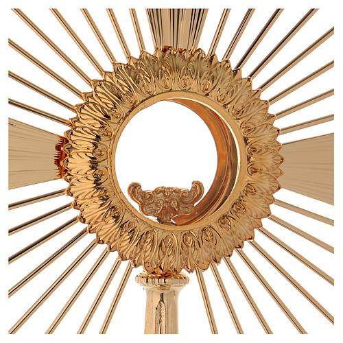 Ostensorio barocco Raggio di Sole 60 cm 2