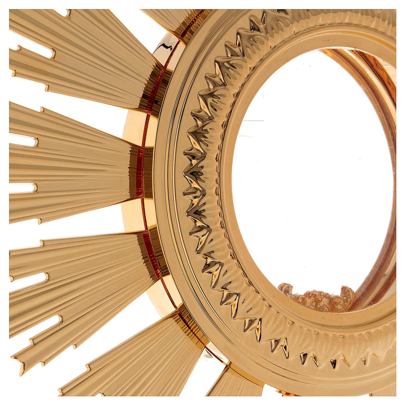 Ostensorio barocco Ostia Magna da processione 4