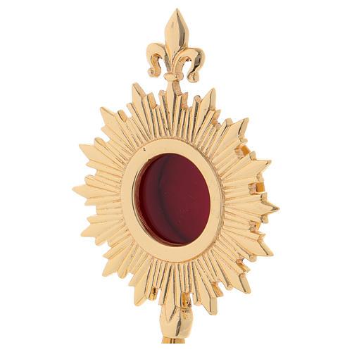 Reliquiario stile classico ottone dorato 24 cm 2