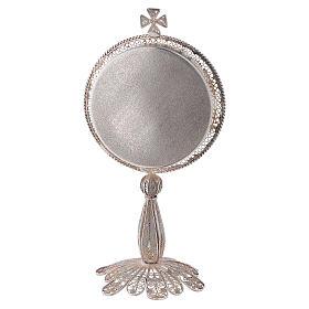 Reliquiario argento 800 filigrana di altezza 13 cm s3