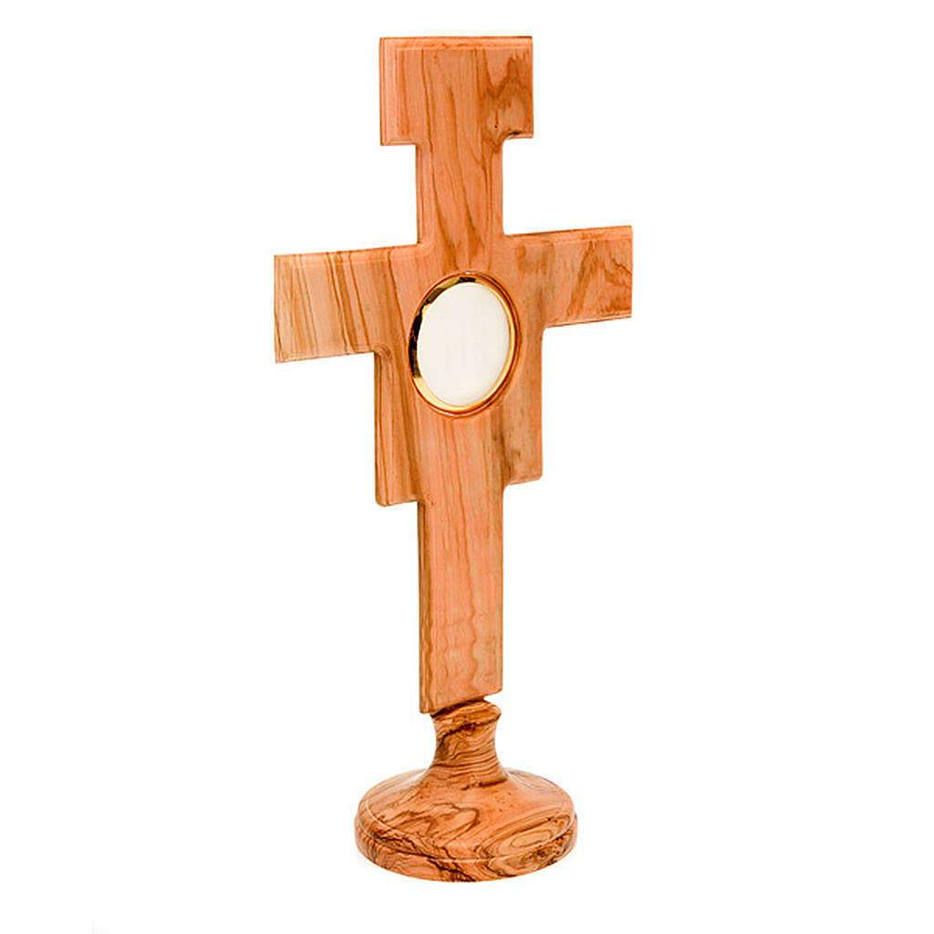 Ostensorio olivo cruz San Damián 4