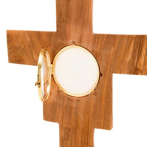 Ostensorio olivo cruz San Damián 2