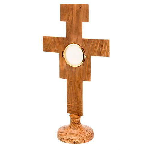 Ostensorio olivo cruz San Damián 3