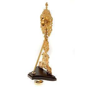 Reliquiario argentato / dorato con pietre s4