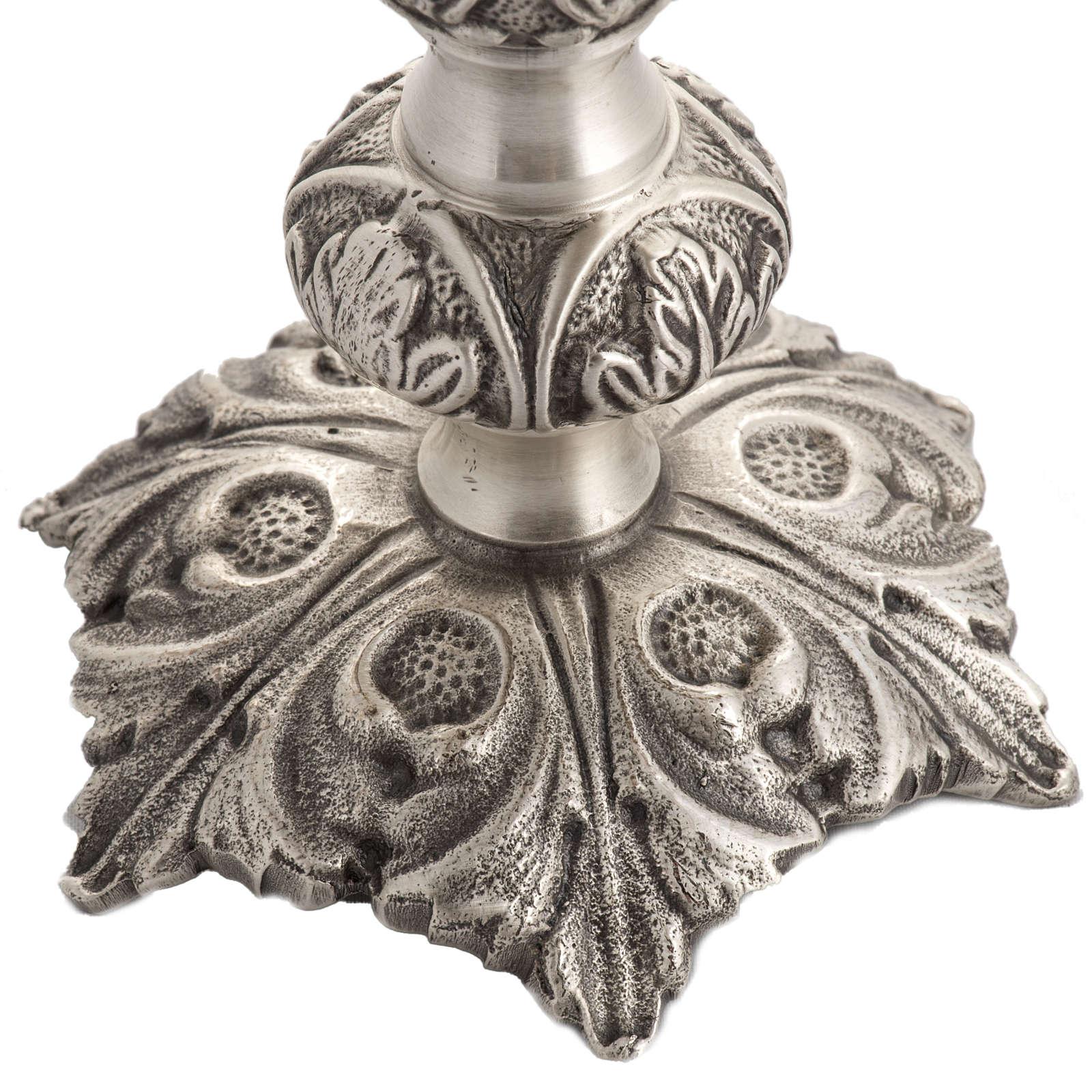 Reliquiario bronzo fuso h 27 cm 4