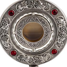 Reliquiario bronzo fuso h 27 cm s2