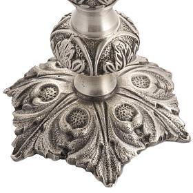 Reliquiario bronzo fuso h 27 cm s3