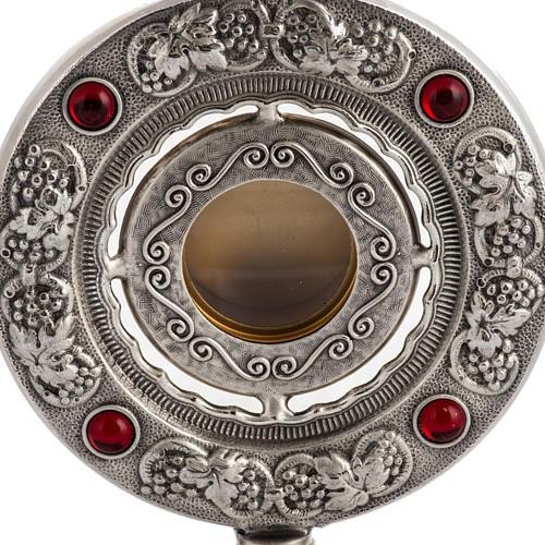 Reliquiario bronzo fuso h 27 cm 2