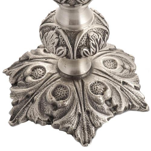 Reliquiario bronzo fuso h 27 cm 3