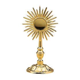Reliquiario Molina Classico ottone dorato s1
