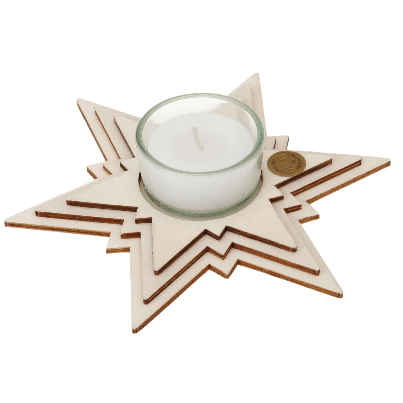 Star with candle 3