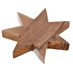 Castiçal oliveira estrela 7 pontas s3