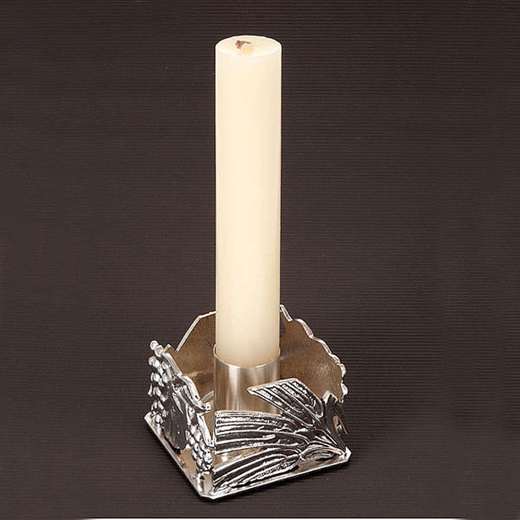 Portacandela altare spighe uva 4