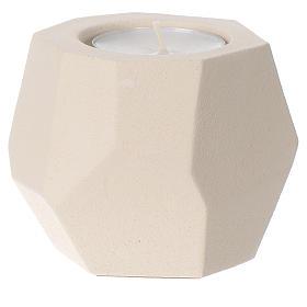 Support bougies: Chandelier prisme argile Centre Ave 6,5 cm
