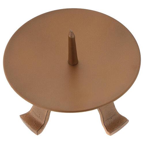 Portavela con punta alto pies diámetro 11,5 cm 2