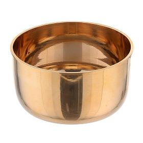 Campana para velas latón dorado 4 cm s2