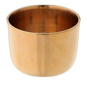 Bague pour bougie laiton doré 4 cm s1