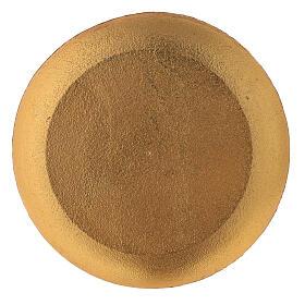 Plato para vela turquesa diámetro 12 cm s3
