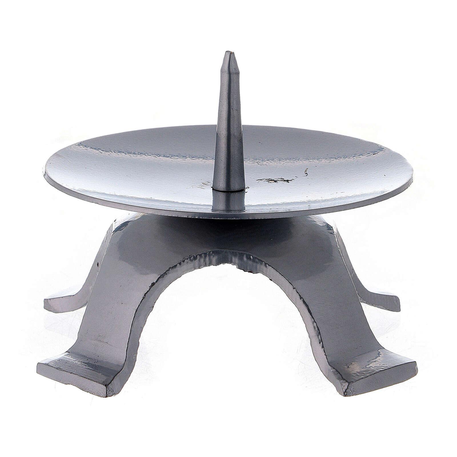 Portavela punta espesa cuatro pies 9,5 cm 4