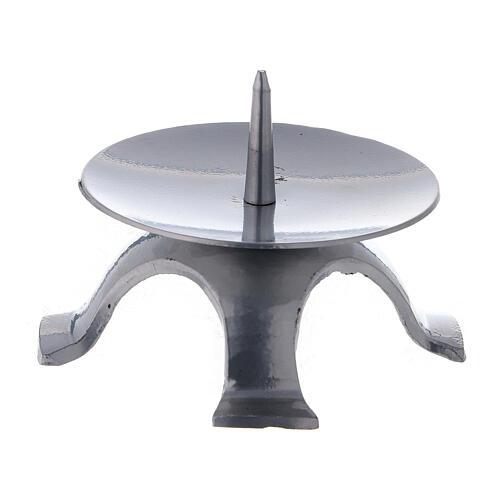 Portavela punta espesa cuatro pies 9,5 cm 1