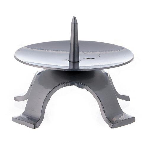 Portavela punta espesa cuatro pies 9,5 cm 2
