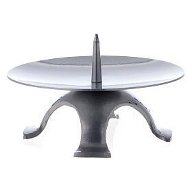 Base vela 13 cm hierro punta espesa s2