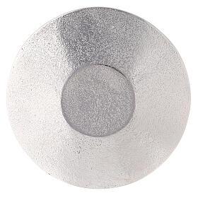 Piatto portacandela nido ape alluminio diametro 14 cm s3