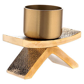 Candelero con base 5 cm bronce Molina s2