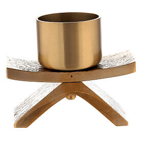 Bronze Molina candlestick with socket 2 in s3