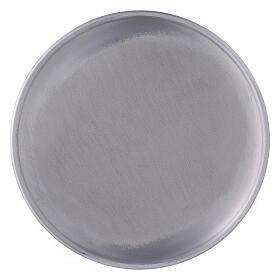 Portavela plato aluminio 17 cm pies s2