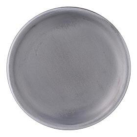 Portavela bordes elevados aluminio 10 cm s1