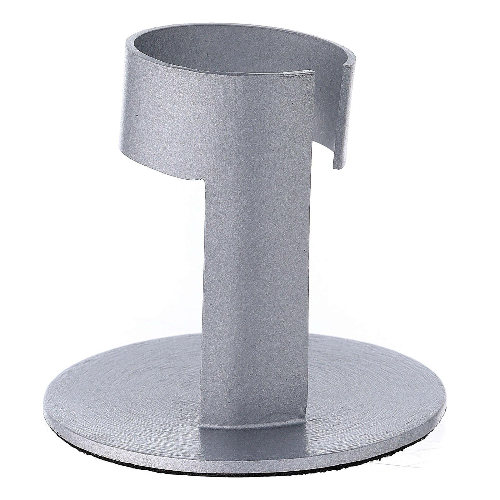 Portavela faja aluminio cepllado 4 cm 3