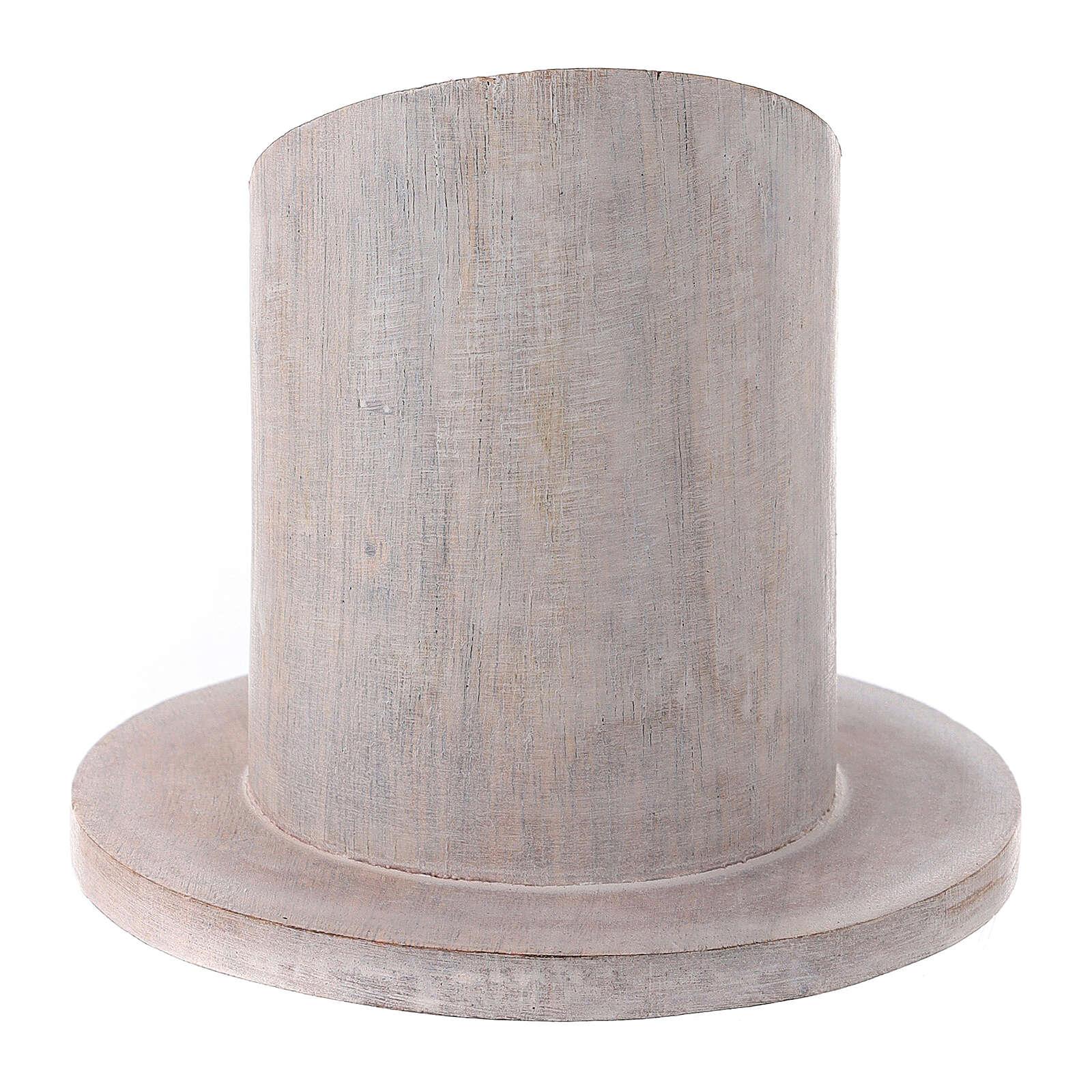 Bougeoir manguier clair 5 cm 3