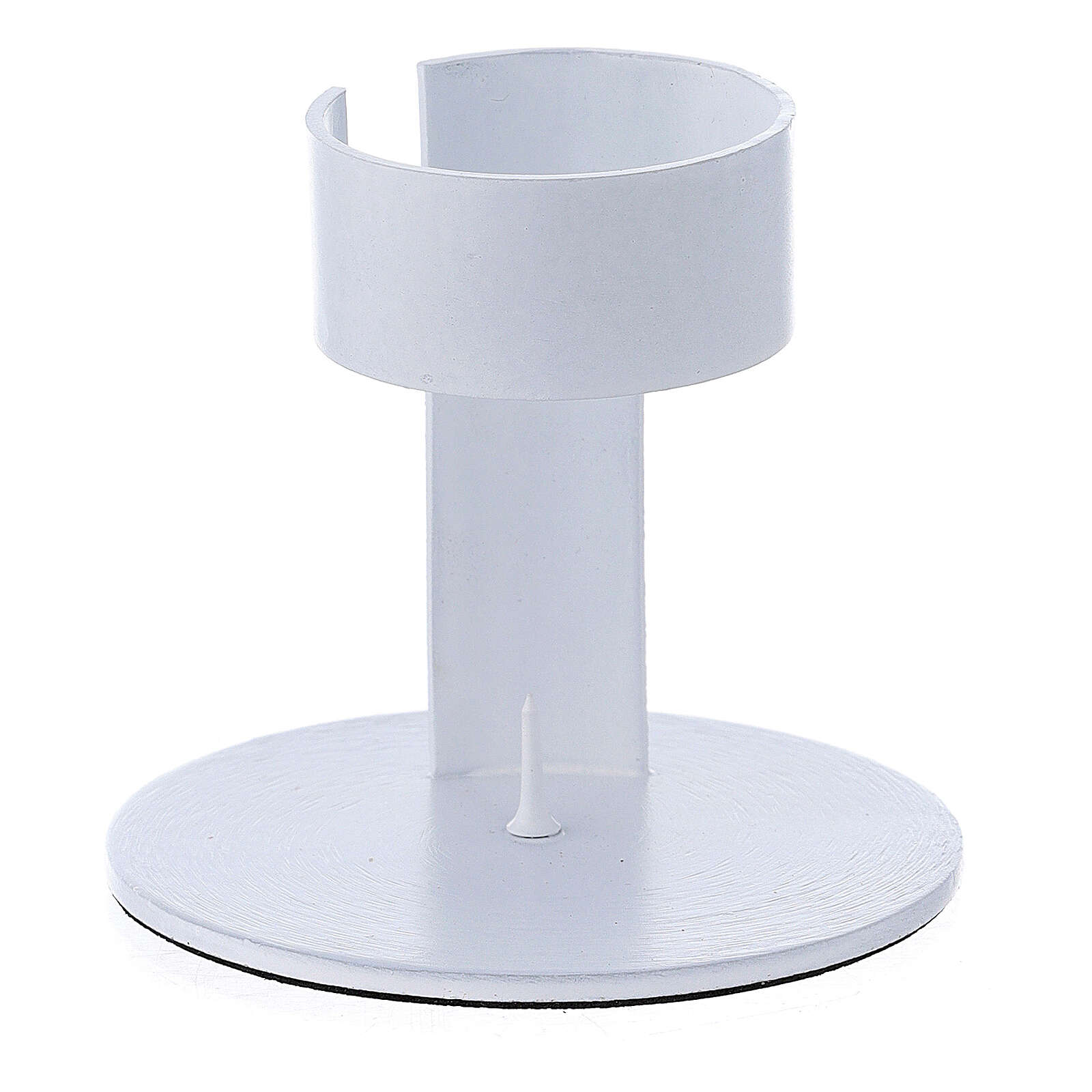 Portavela faja aluminio blanco 4 cm 3