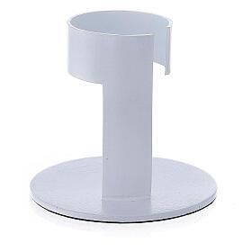 Portavela faja aluminio blanco 4 cm s3