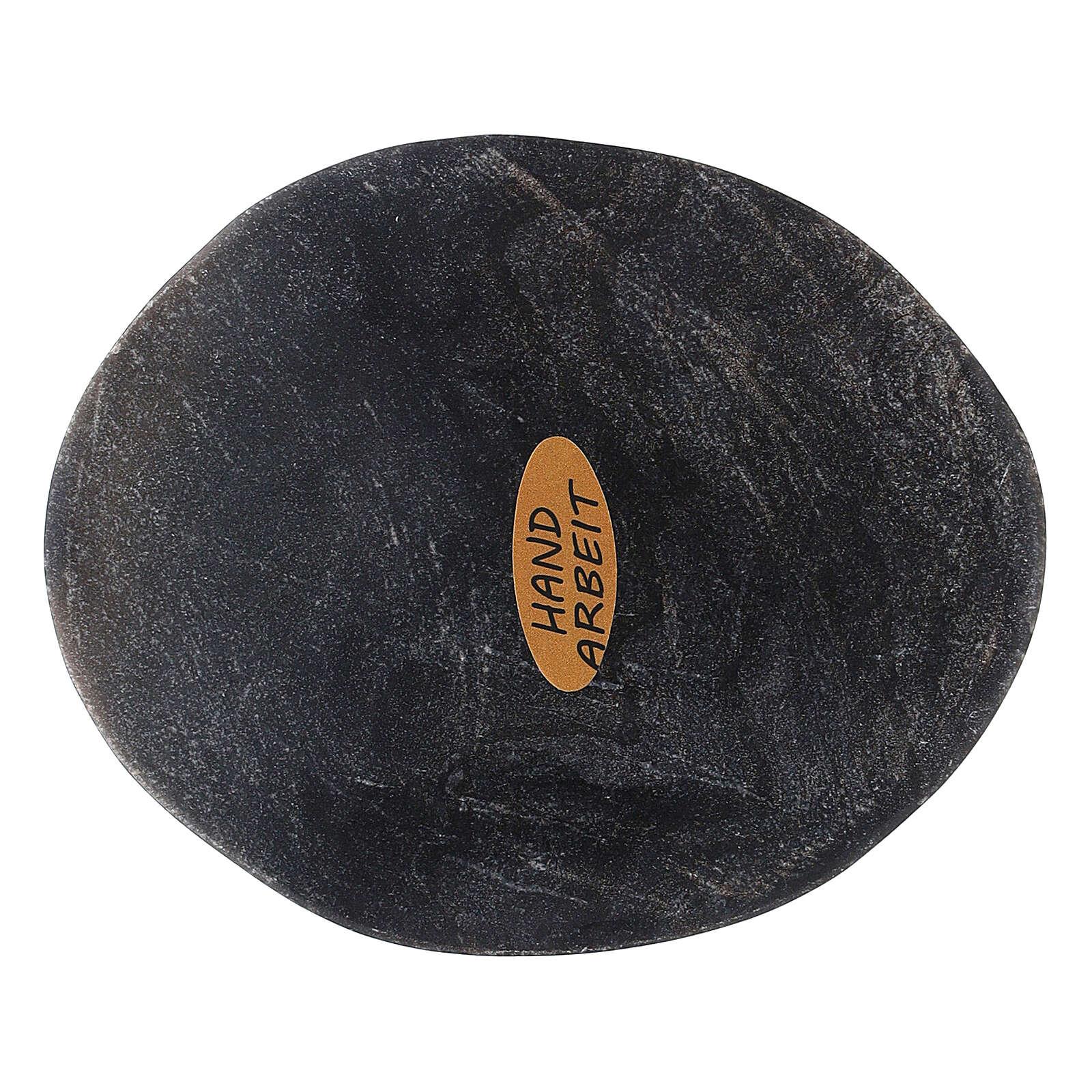 Piatto ovale pietra naturale 10x8 cm 3