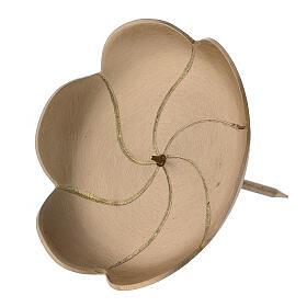 Pic Avent lotus laiton brossé 10 cm s2